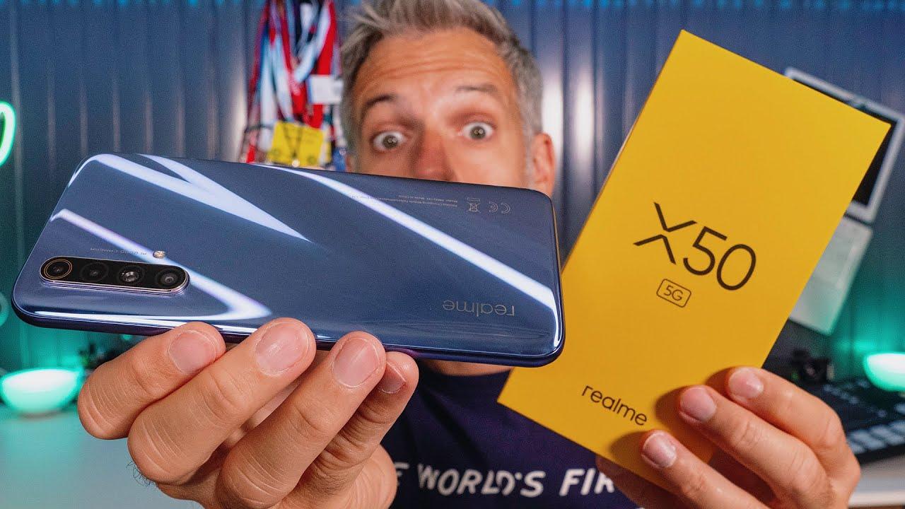 realme X50 5G - Un Ecran 120HZ à 379€ !!!