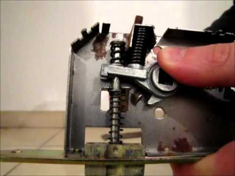 Door Handle Mechanism Youtube