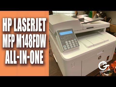 HP Laserjet Pro M148fdw Review: A $149 All-in-One Laser Printer