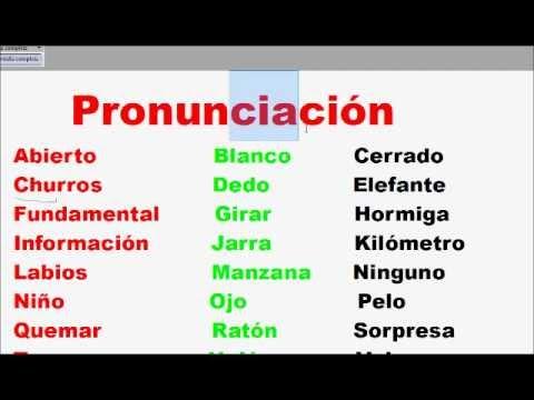 learn spanish in urdu class 2
