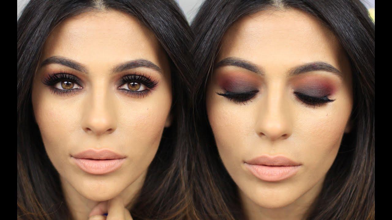 Fall Makeup + Sunset Eyeshadow   Eye Makeup Tutorial   Teni ...