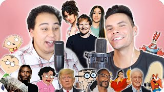 """Ed Sheeran - """"South of the Border"""" Impersonation Cover (ft. Camila Cabello & Cardi B) LIVE ONE-TAKE!"""