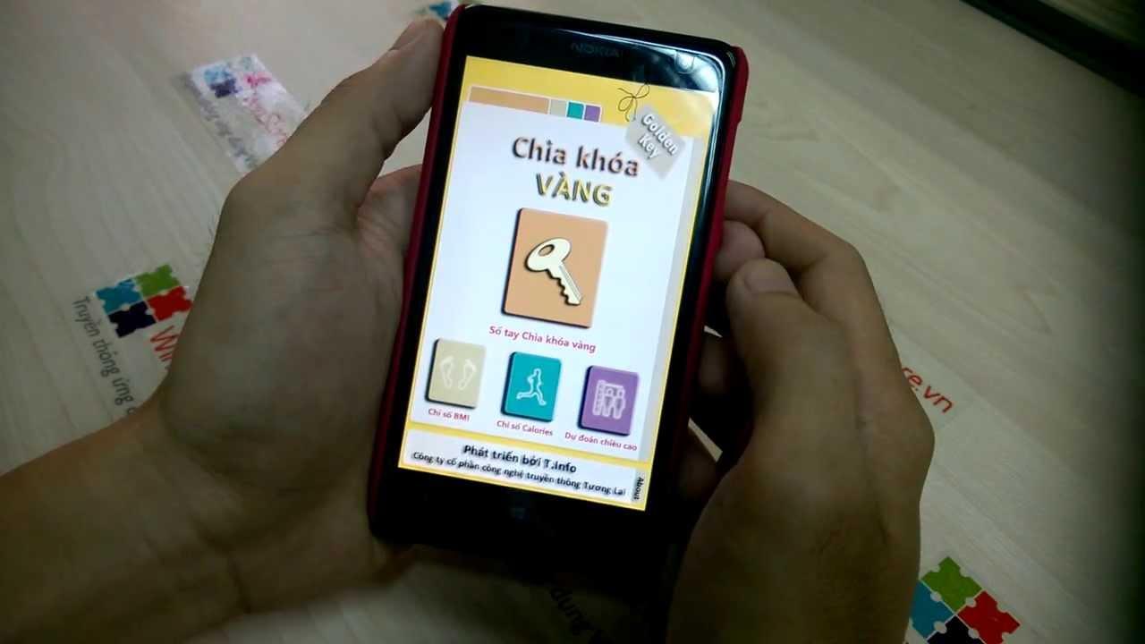 Review ứng dụng GoldenKey trên Windows Phone
