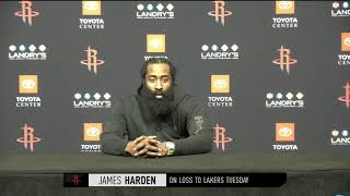 James Harden Wants Out of Houston, Postgame Interview | January 12, 2021