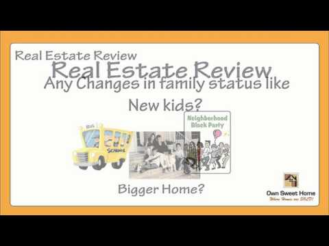 Annual Home Ownership Review - Review your home status and mortgage suitability