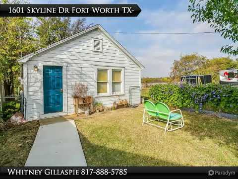 Homes for Sale - 1601 Skyline Drive, Fort Worth, TX