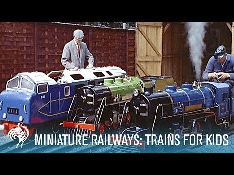 Miniature Railways: Trains for Kids | British Pathé
