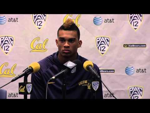 Cal Football: Chris Harper - Nevada Post Game (9/1/12)