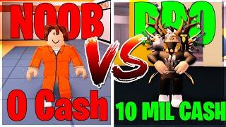 [JAILBREAK ROBLOX] NOOB v.s PRO EDITION! (ROBLOX)