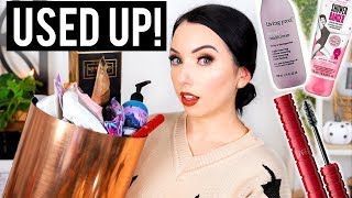 WOULD I REPURCHASE?! Makeup & Beauty Products I've Used Up... 👍🏻👎🏻