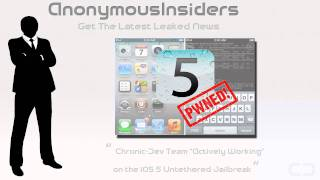 "iOS 5 Untethered Jailbreak - Chronic-Dev Team ""Actively Working"" on it"