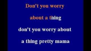 Stevie Wonder - Don't You Worry 'Bout A Thing - Karaoke