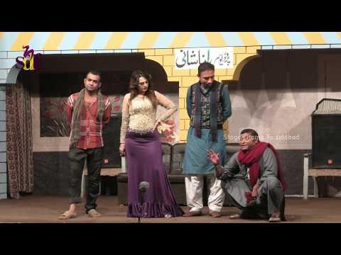 Rashid Kamal With Zara Khan And Ali Imdad | New Comedy Stage Drama Tutti Frutti - 2019