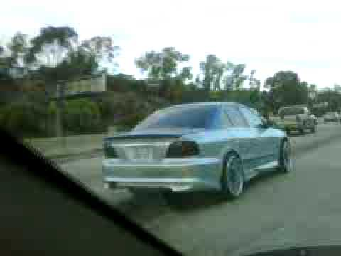mitsubishi galant in san diego with a clean paint job