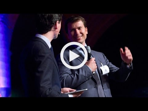 The opening of Mobile Convention Amsterdam 2014 by Jeroen van Glabbeek, CEO of CM