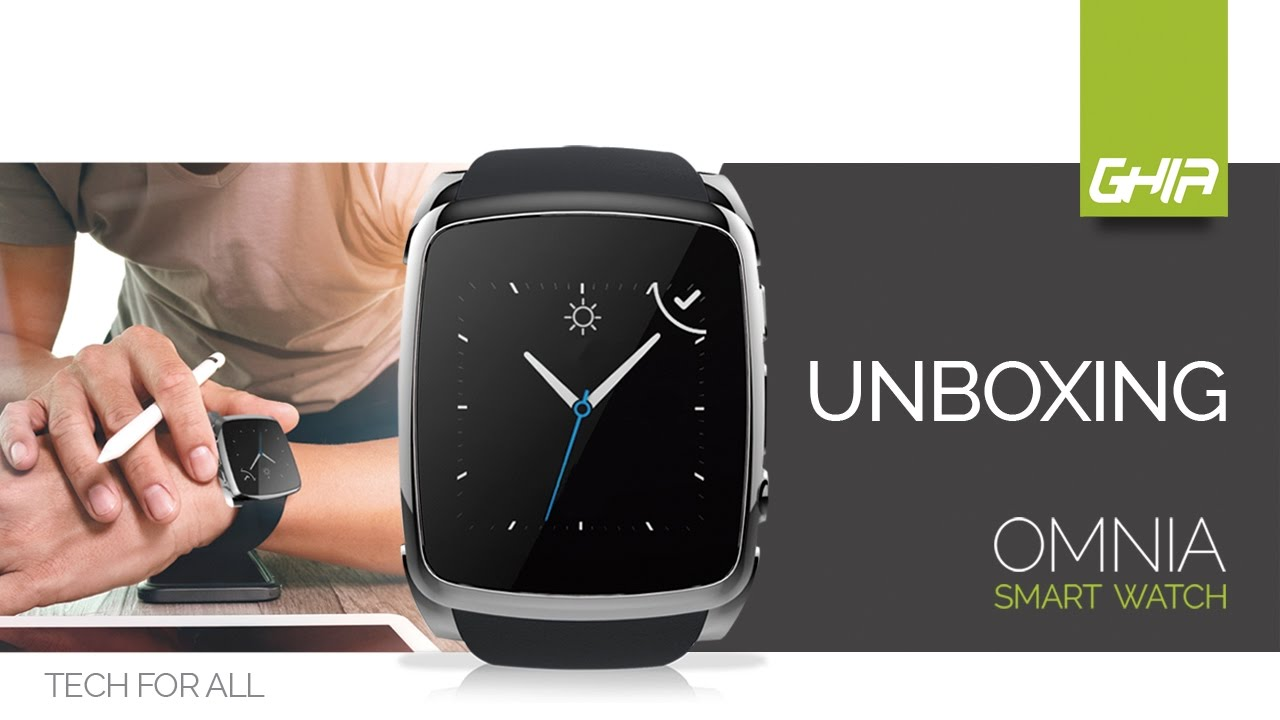 Watch Unboxing De Smart Omnia Ghia m8N0Ovnw