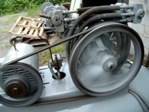 Ingersoll Rand 10 Hp 2 Stage 120 Gal Air Compressor Video