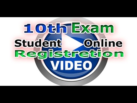 10th  Exam student  Registration  in gujarat