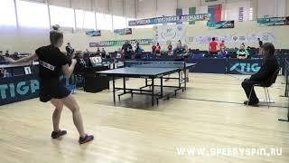 Vishniakova - Kovrigina.Teams 1/4 finale. V летняя Спартакиада молодежи России