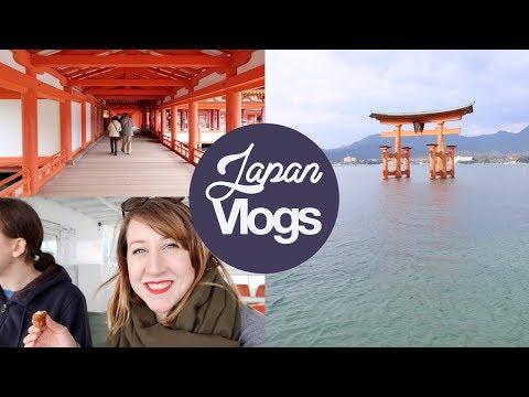 Japan Vlog: Miyajima & Hiroshima Day Trip!