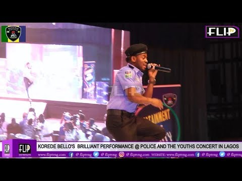 KOREDE BELLO'S  BRILLIANT PERFORMANCE @ POLICE AND THE YOUTHS CONCERT IN LAGOS