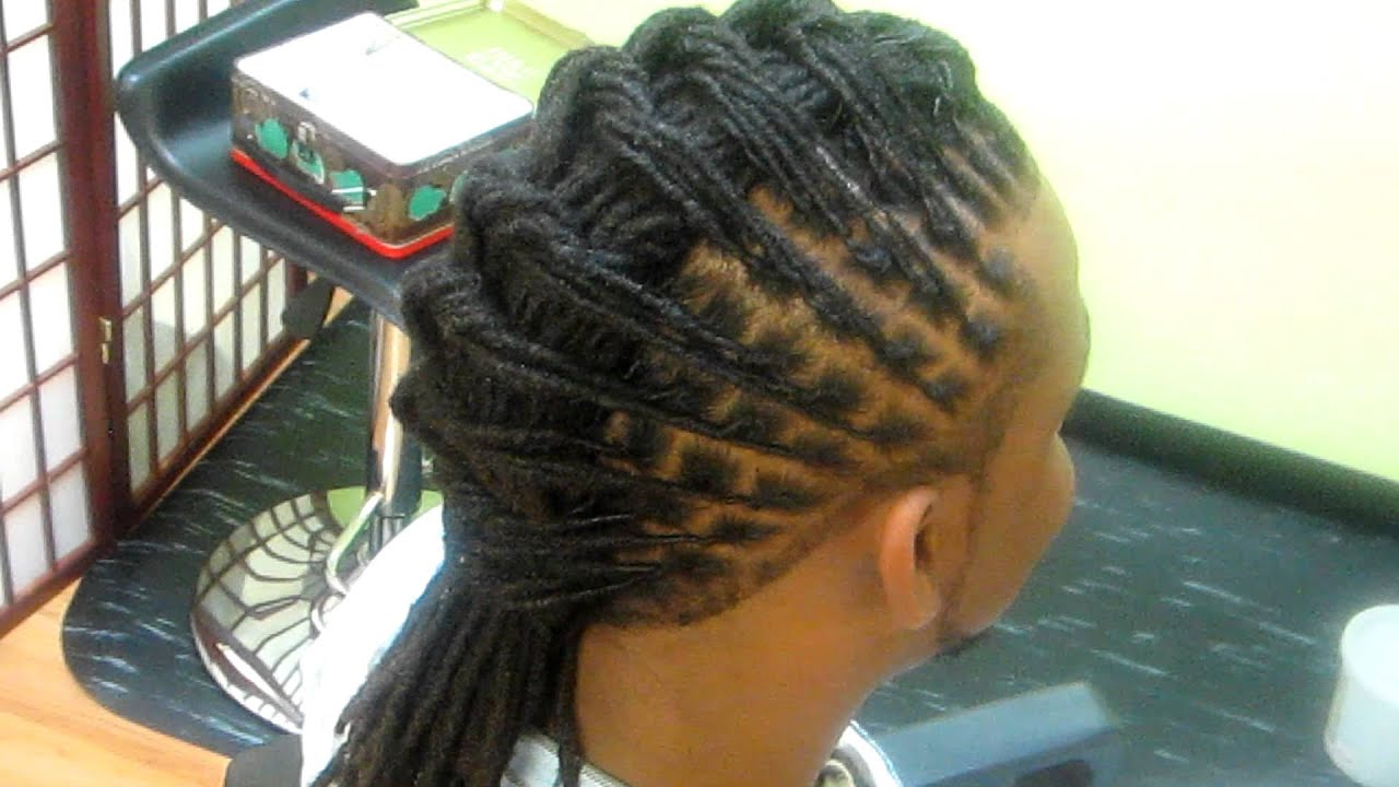 Ms VahVah Loc Spa Loc Style YouTube