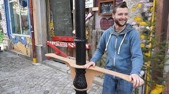 Венелин Драганов - майстор на нестандартни дървени изделия