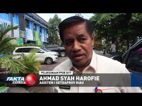 Asisten Satu Setdaprov Riau tinjau pelaksanan PPDB di SMAN Negeri 8 Pekanbaru