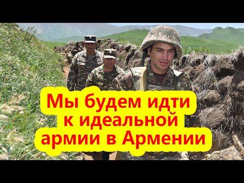 Давтян: Мы будем идти к профессиональной армии в Армении