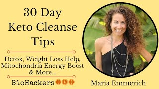30 Day Keto Diet Cleanse (Review & Tips) • Maria Emmerich