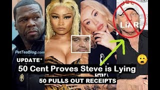 50 Cent, Iggy Azalea Expose Steve Madden as a LiAR in Nicki Minaj Defense ????