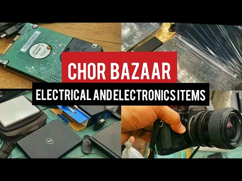 Chor Bazar Delhi - Camera, Laptos, Music System, Speakers | Don't ever think of buying anything.