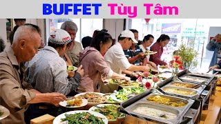Khám Phá Buffet Chay (Tùy Hỷ) ăn Xong trả tiền Tùy Tâm Chi Nhánh 2 tại Quận 5 Sài Gòn