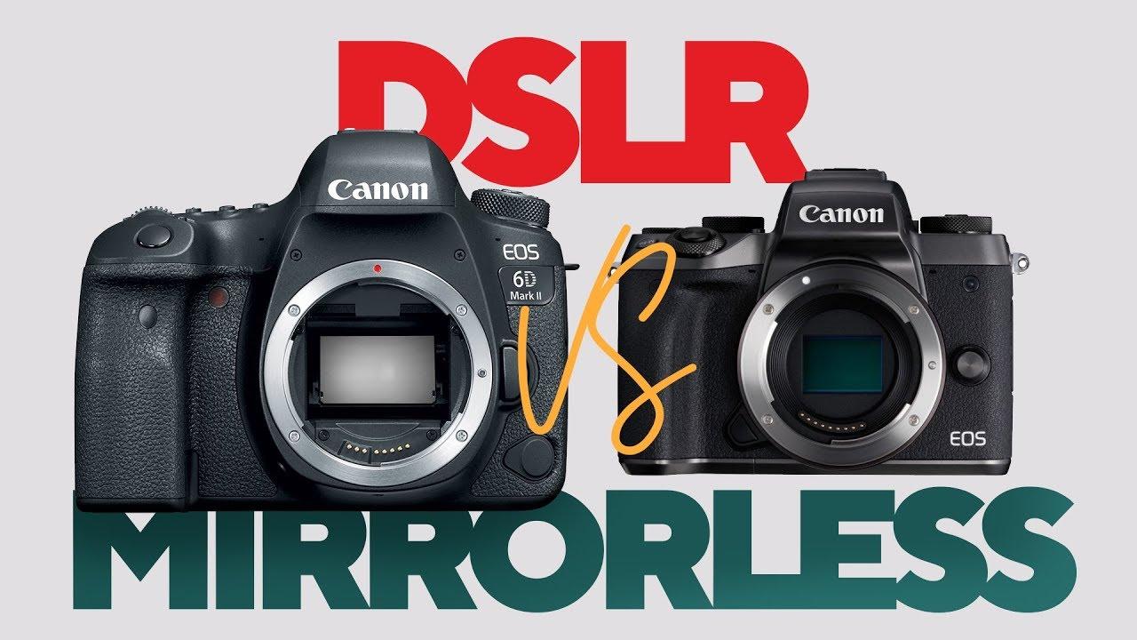 Diferencias entre una cámara DSLR y una Sin Espejo