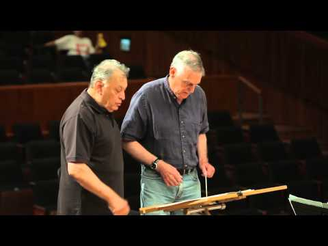 ג'ינס עם כבוד - Zubin Mehta, Conducting lesson