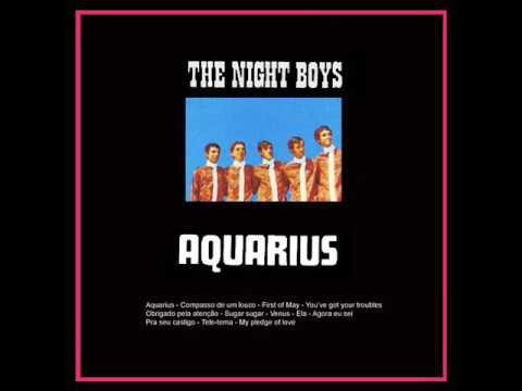 THE NIGHT BOYS - AQUARIUS - ÁLBUM - 1970