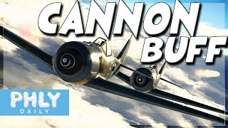 CANNON BUFF | Cannons ACTUALLY WORK! (War Thunder Air RB Gameplay)