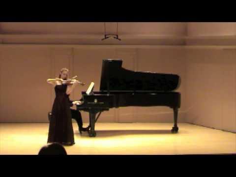 Chloe Trevor Beethoven Violin Concerto: Rondo (part 5)