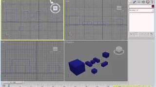 3dsMAX Урок 02-2. Перемещение, поворот, масштабирование