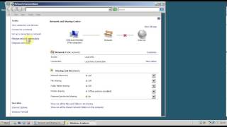 Belajar Server (Windows Server 2008) 01 setting ip address