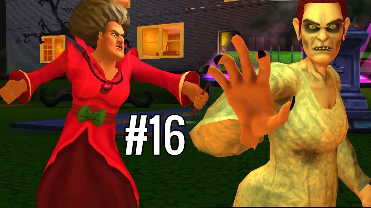 HALLOWEEN PARTY - Scary Teacher 3D Part 16 | Funny Android Full Gameplay