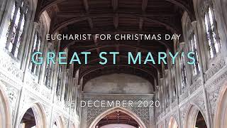 Christmas Day at Great St Mary's