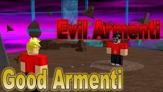 Evil Armenti vs Good Armenti - ROBLOX Skit
