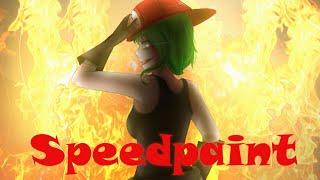 Megpoid Gumi (CIRCRUSH!) Speedpaint- WILDFIRE!