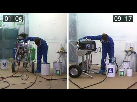 Graco XP70 Plural-component Sprayer: Save Time And Money By Removing Hand-mixing
