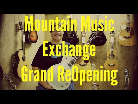 Mountain Music Exchange & a FREE Gretsch Guitar