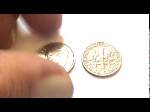 US COINS RARE 1999 Dime and 1981 Dime Error Coin My Collection Редкие и  Дорогие Монеты США