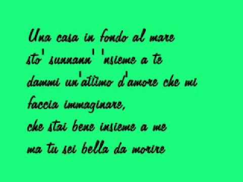 Gigi D'alessio - portami con te (testo)