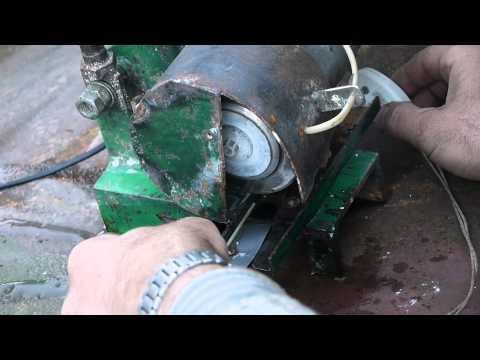видео: Самодельный алмазно-отрезной станок с тонким диском.