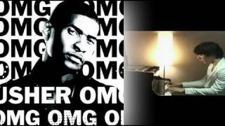 OMG - Usher Feat. Will.I.Am (Yoonha Hwang Piano Acoustic Cover) - Music Video with lyrics